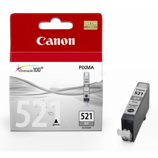 Original Canon 2937B001 / CLI521GY Tintenpatrone grau