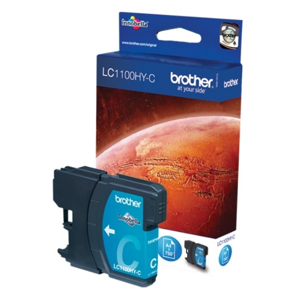 Original Brother LC1100HYC Tintenpatrone cyan