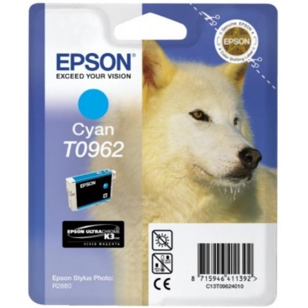 Original Epson C13T09624010 / T0962 Tintenpatrone cyan