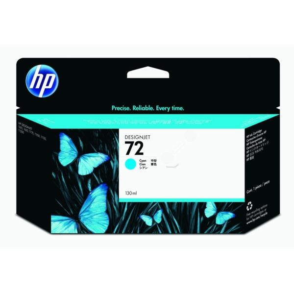 Original HP C9371A / 72 Tintenpatrone cyan