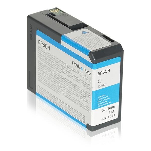 Original Epson C13T580200 / T5802 Tintenpatrone cyan