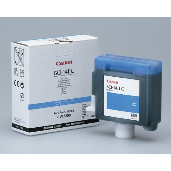 Original Canon 7575A001 / BCI1411C Tintenpatrone cyan