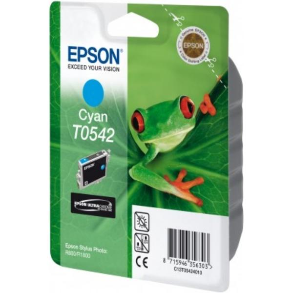Original Epson C13T05424010 / T0542 Tintenpatrone cyan