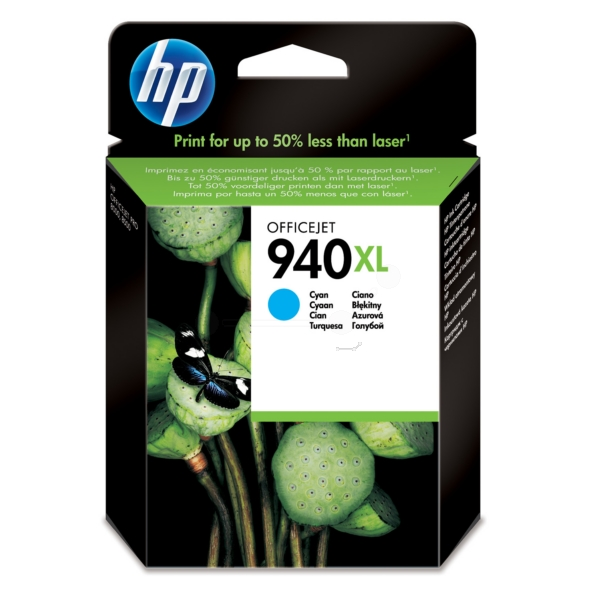 Original HP C4907AE / 940XL Ink cartridge cyan