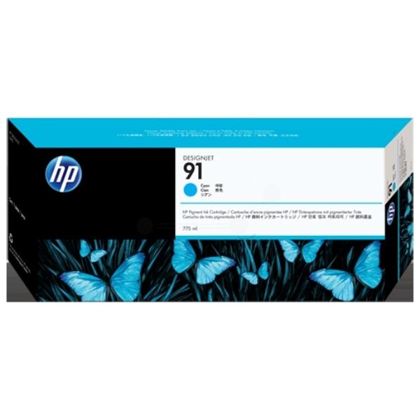 Original HP C9467A / 91 Tintenpatrone cyan
