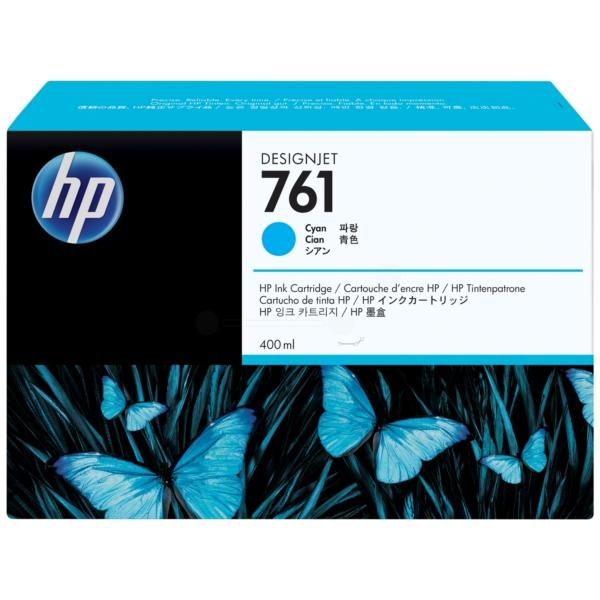 Original HP CM994A / 761 Tintenpatrone cyan