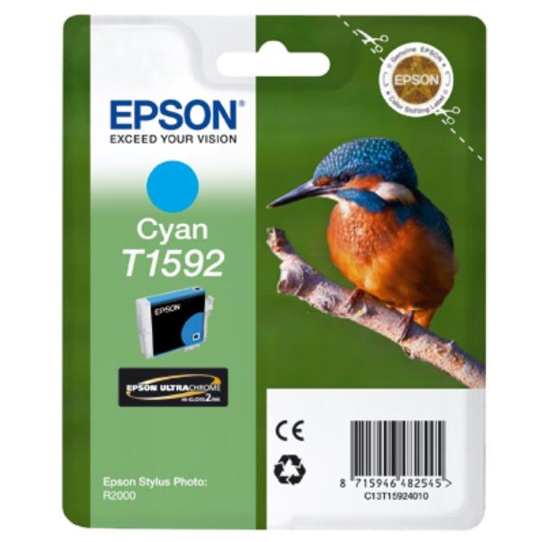 Original Epson C13T15924010 / T1592 Tintenpatrone cyan