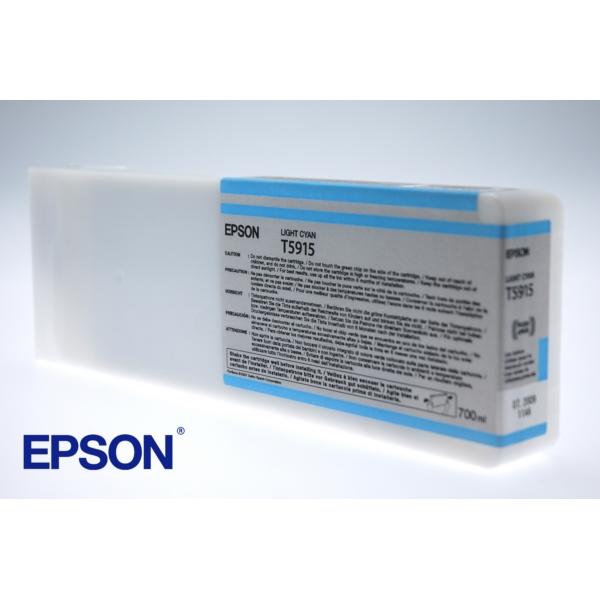 Original Epson C13T591500 / T5915 Tintenpatrone cyan hell