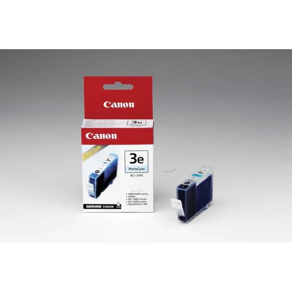 Original Canon 4483A002 / BCI3EPC Tintenpatrone cyan hell