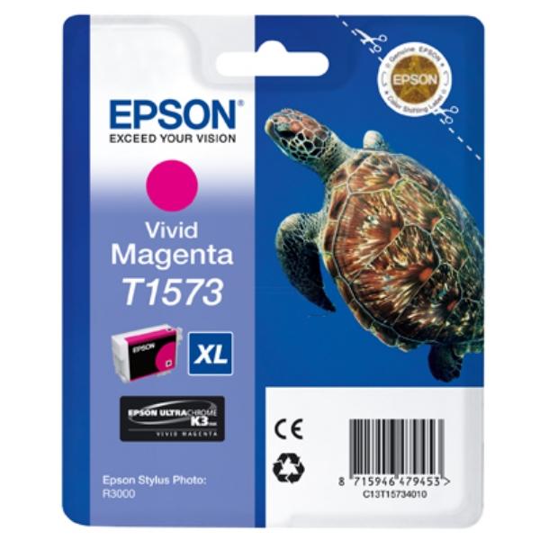 Original Epson C13T15734010 / T1573 Tintenpatrone magenta