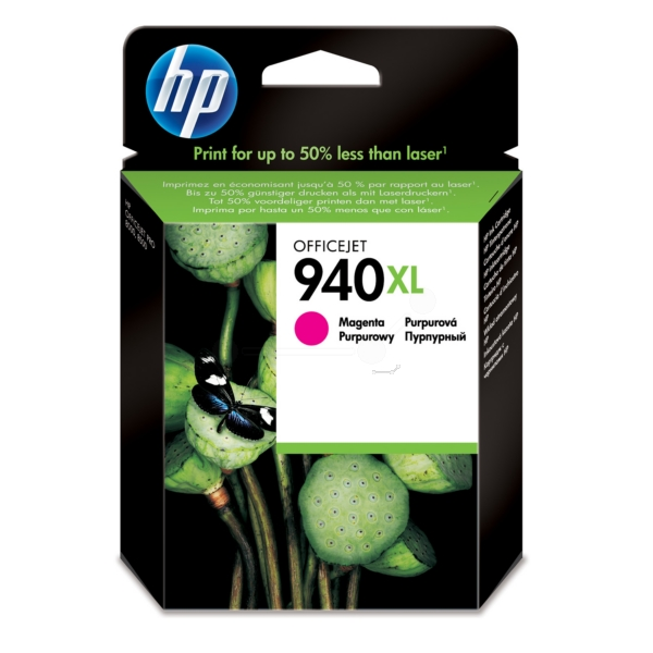 Original HP C4908AE / 940XL Ink cartridge magenta