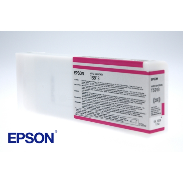 Original Epson C13T591300 / T5913 Tintenpatrone magenta