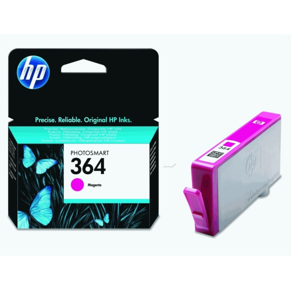 Original HP CB319EE / 364 Ink cartridge magenta