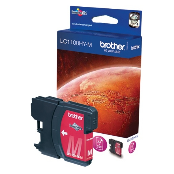 Original Brother LC1100HYM Tintenpatrone magenta