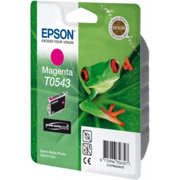 Original Epson C13T05434010 / T0543 Tintenpatrone magenta