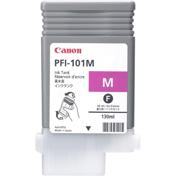 Original Canon 0885B001 / PFI101M Tintenpatrone magenta