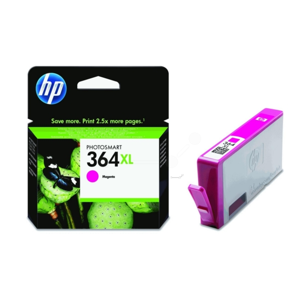 Original HP CB324EE / 364XL Ink cartridge magenta