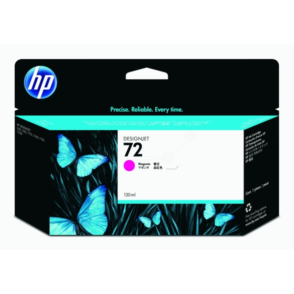 Original HP C9372A / 72 Tintenpatrone magenta