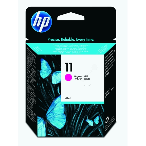 Original HP C4837AE / 11 Ink cartridge magenta