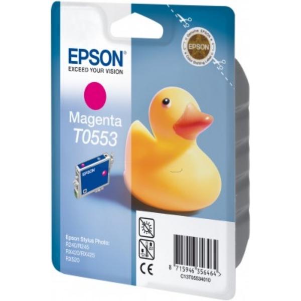Original Epson C13T05534010 / T0553 Tintenpatrone magenta
