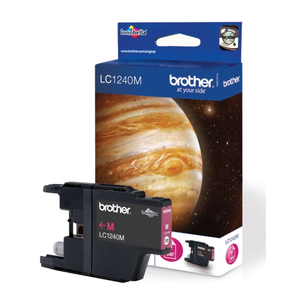 Original Brother LC1240M Cartouche d'encre magenta