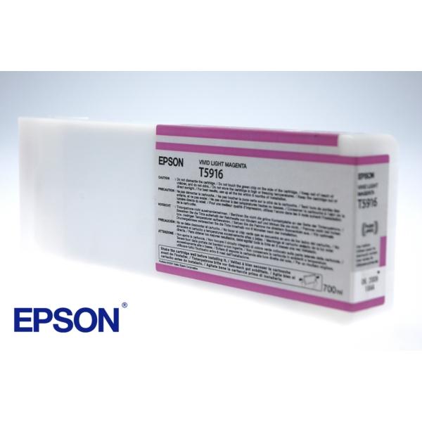 Original Epson C13T591600 / T5916 Tintenpatrone magenta hell