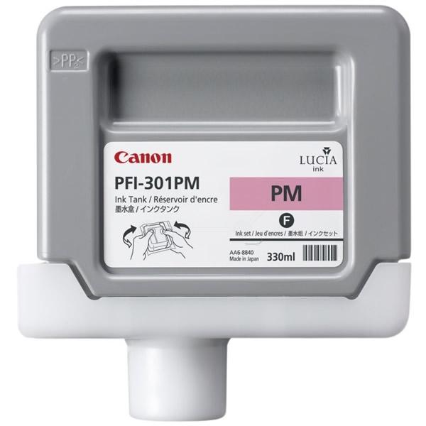 Original Canon 1491B001 / PFI301PM Tintenpatrone magenta hell