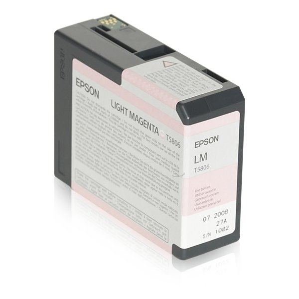 Original Epson C13T580600 / T5806 Tintenpatrone magenta hell
