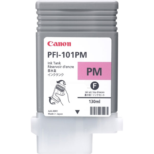 Original Canon 0888B001 / PFI101PM Tintenpatrone magenta hell