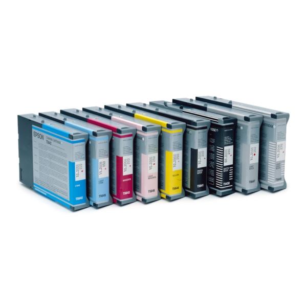 Original Epson C13T543400 / T5434 Tintenpatrone gelb