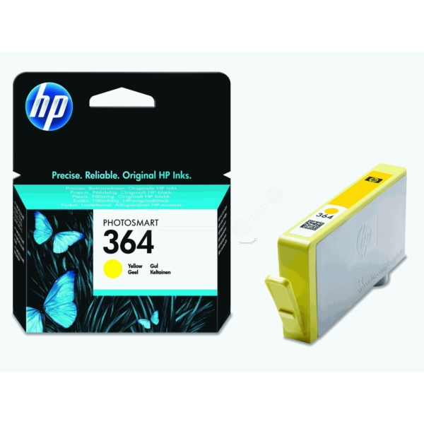 Original HP CB320EE / 364 Ink cartridge yellow
