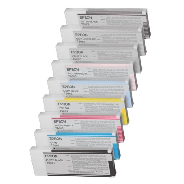 Original Epson C13T614400 / T6144 Tintenpatrone gelb
