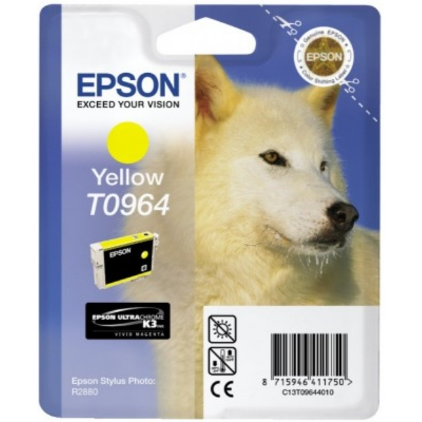 Original Epson C13T09644010 / T0964 Tintenpatrone gelb