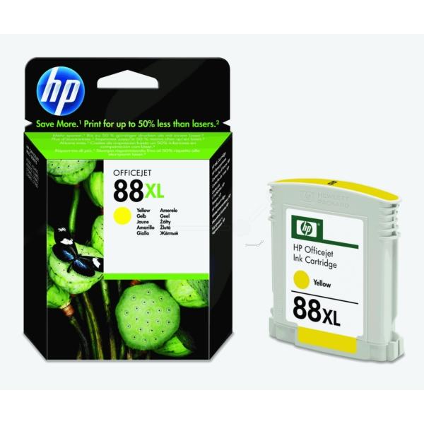 Original HP C9393AE / 88XL Tintenpatrone gelb