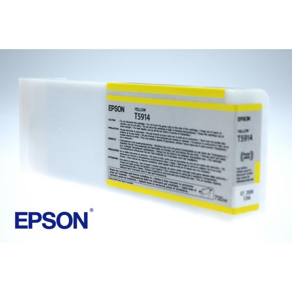 Original Epson C13T591400 / T5914 Tintenpatrone gelb