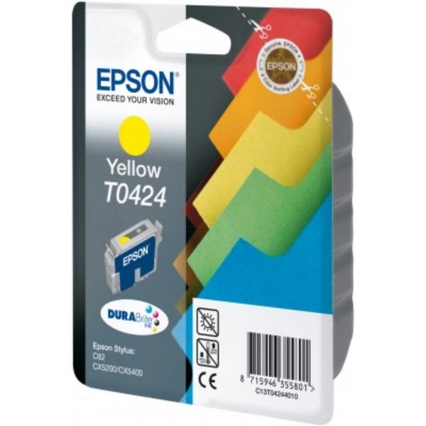 Original Epson C13T04244010 / T0424 Tintenpatrone gelb