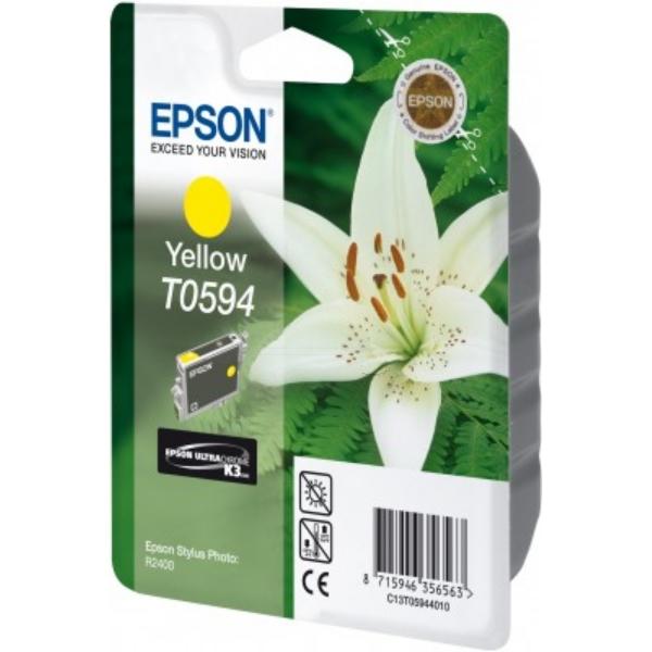Original Epson C13T05944010 / T0594 Tintenpatrone gelb