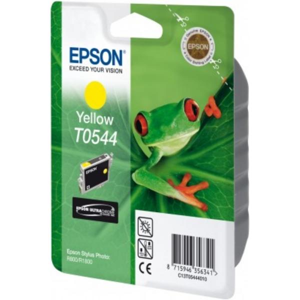 Original Epson C13T05444010 / T0544 Tintenpatrone gelb