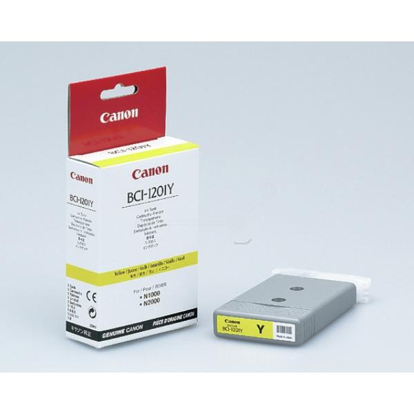 Original Canon 7340A001 / BCI1201Y Tintenpatrone gelb