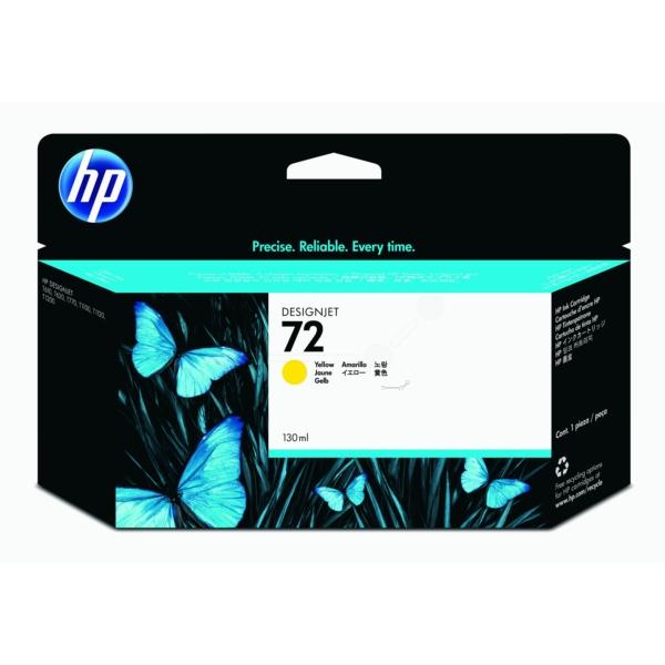 Original HP C9373A / 72 Tintenpatrone gelb
