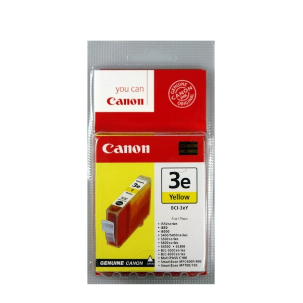 Original Canon 4482A002 / BCI3EY Tintenpatrone gelb