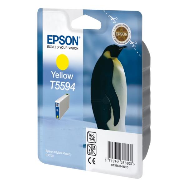 Original Epson C13T55944010 / T5594 Tintenpatrone gelb
