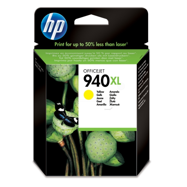 Original HP C4909AE / 940XL Ink cartridge yellow