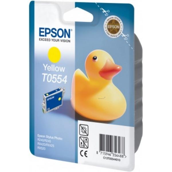 Original Epson C13T05544010 / T0554 Tintenpatrone gelb
