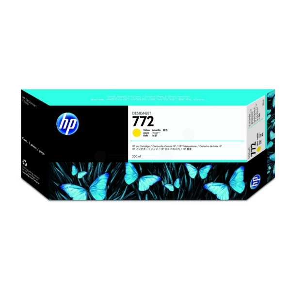 Original HP CN630A / 772 Tintenpatrone gelb