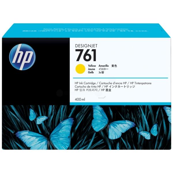 Original HP CM992A / 761 Tintenpatrone gelb
