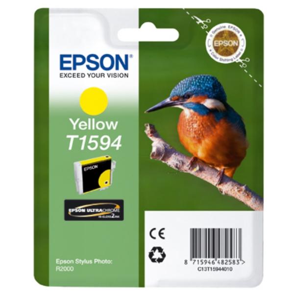 Original Epson C13T15944010 / T1594 Tintenpatrone gelb