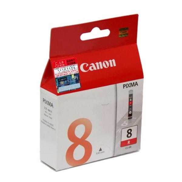 Original Canon 0626B001 / CLI8R Tintenpatrone rot