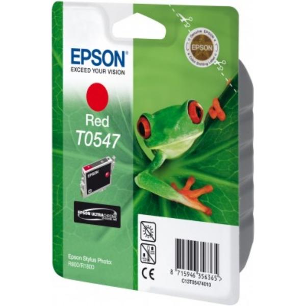 Original Epson C13T05474010 / T0547 Tintenpatrone rot