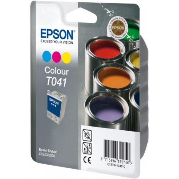 Original Epson C13T04104010 / T041 Tintenpatrone color